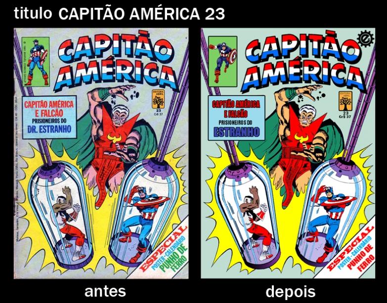 Capitão America 23