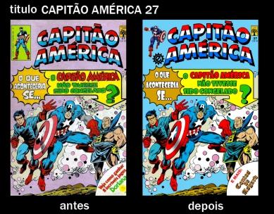 Capitão America 27