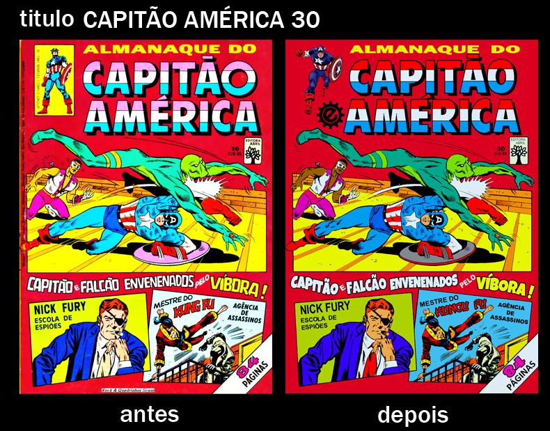 Capitão America 30