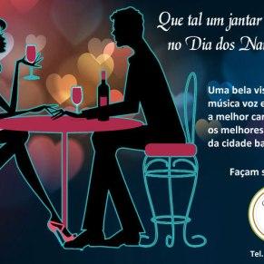 Chamada promocional para o Dia dos Namorados - Restaurante Casa da Chef