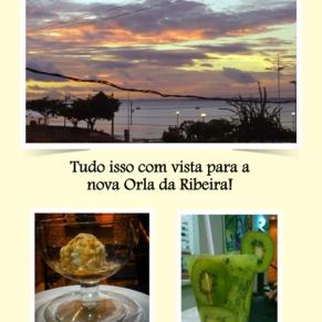 Peça de divulgação Restaurante Casa da Chef (verso).
